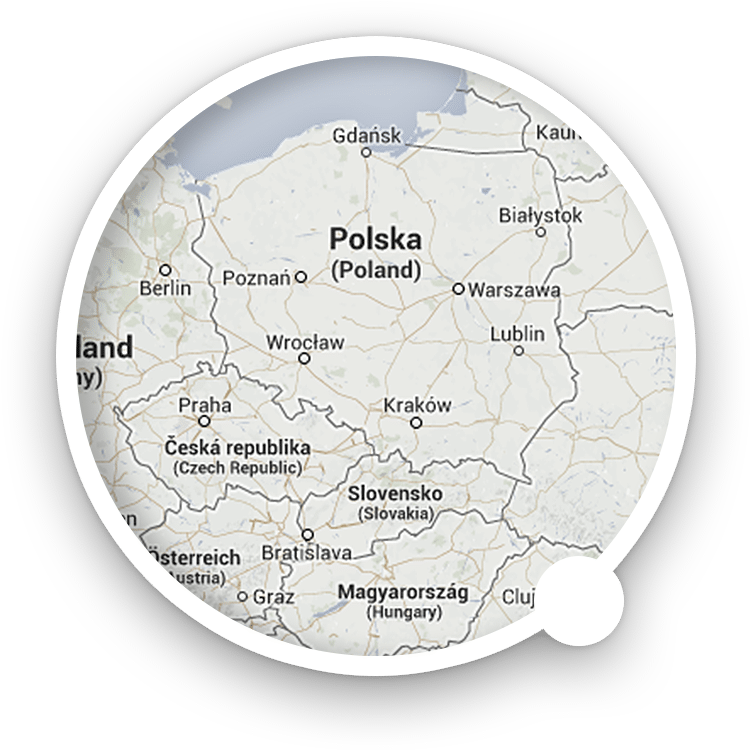 Map: Nowy Sącz, Poland