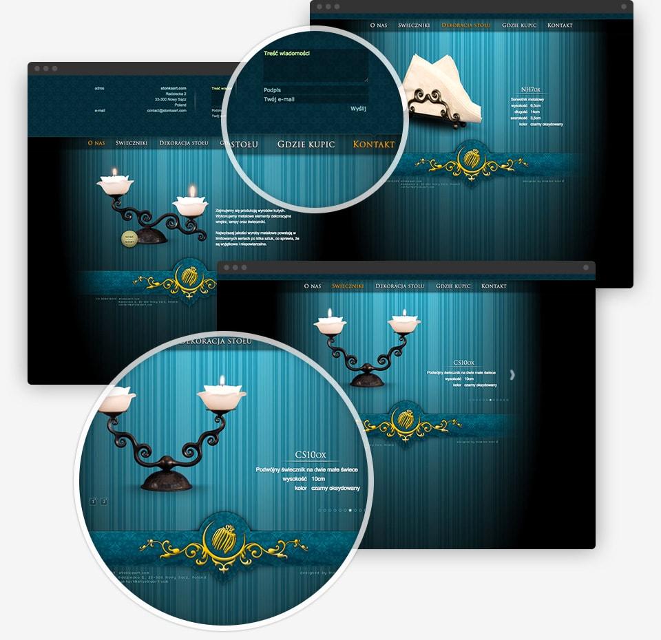 Stonkaart.com website details