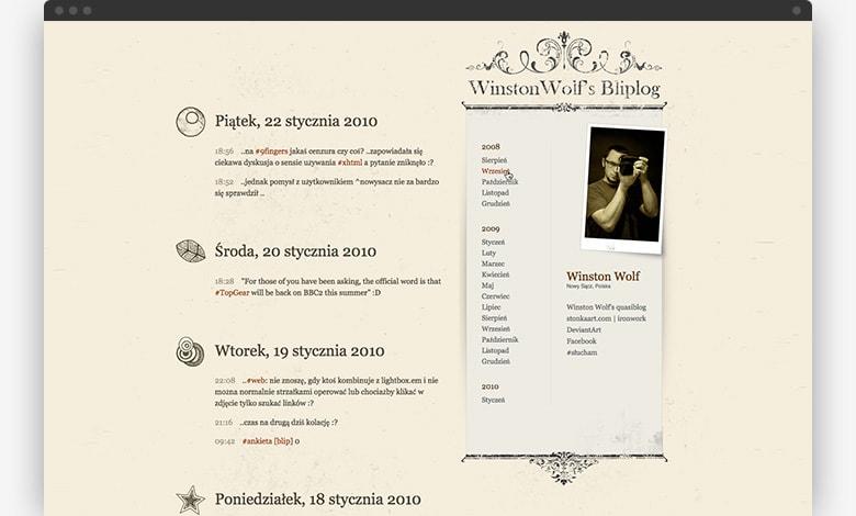 Winston_Wolf's Bliplog - 2010