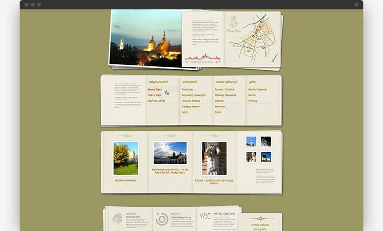 e-nowysacz.pl website 2006